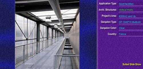 Pereti cortina, din placi de policarbonat MULTICELL DANPALON - Poza 55