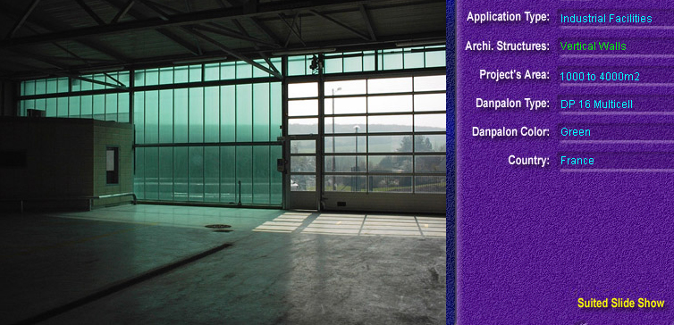 Pereti cortina, din placi de policarbonat MULTICELL DANPALON - Poza 57