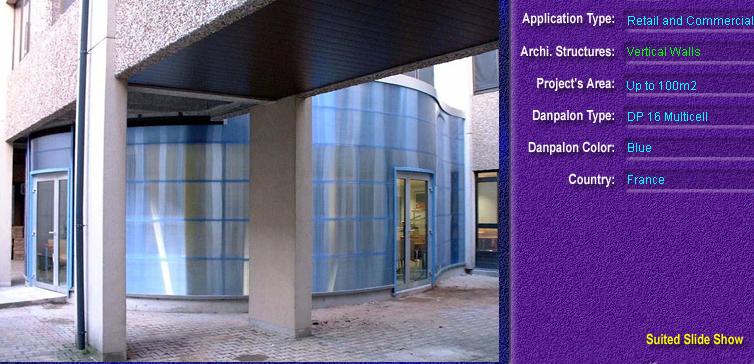 Pereti cortina, din placi de policarbonat MULTICELL DANPALON - Poza 58