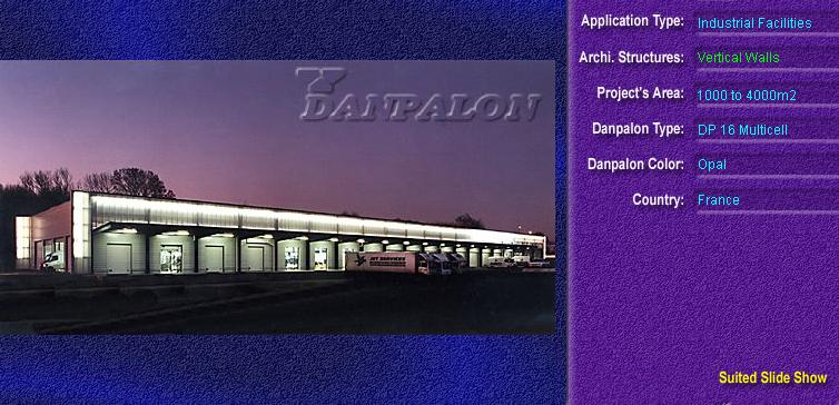 Pereti cortina, din placi de policarbonat MULTICELL DANPALON - Poza 62