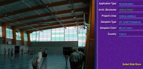 Pereti cortina, din placi de policarbonat MULTICELL DANPALON - Poza 63