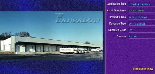 Pereti cortina, din placi de policarbonat MULTICELL DANPALON - Poza 65