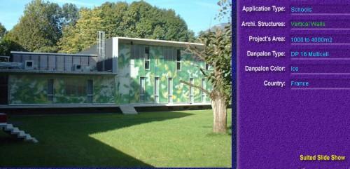 Pereti cortina, din placi de policarbonat MULTICELL DANPALON - Poza 67