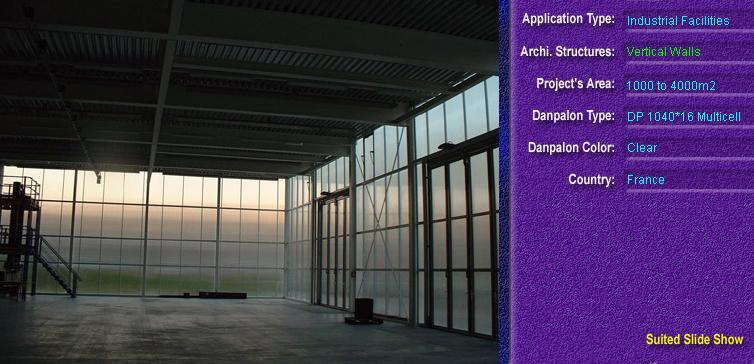 Pereti cortina, din placi de policarbonat MULTICELL DANPALON - Poza 75