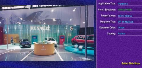Pereti cortina, din placi de policarbonat MULTICELL DANPALON - Poza 77