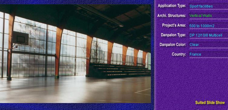 Pereti cortina, din placi de policarbonat MULTICELL DANPALON - Poza 80
