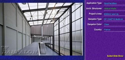 Pereti cortina, din placi de policarbonat MULTICELL DANPALON - Poza 81