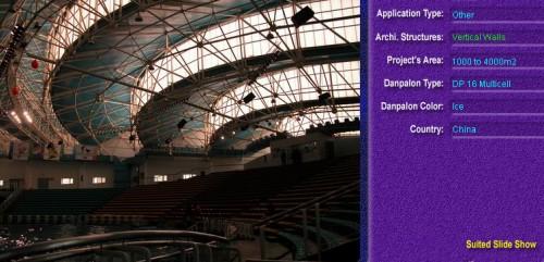 Pereti cortina, din placi de policarbonat MULTICELL DANPALON - Poza 83