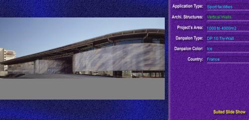 Pereti cortina, din placi de policarbonat TRY WALL DANPALON - Poza 1