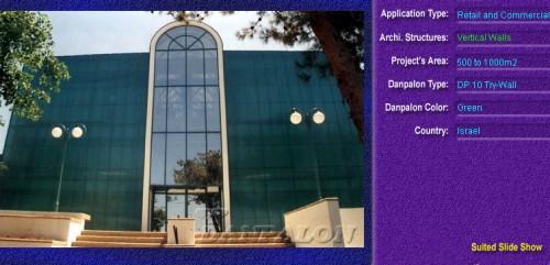 Pereti cortina, din placi de policarbonat TRY WALL DANPALON - Poza 2