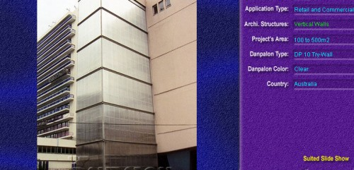 Pereti cortina, din placi de policarbonat TRY WALL DANPALON - Poza 4