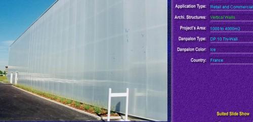Pereti cortina, din placi de policarbonat TRY WALL DANPALON - Poza 5