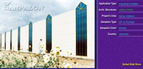 Pereti cortina, din placi de policarbonat TRY WALL DANPALON - Poza 6