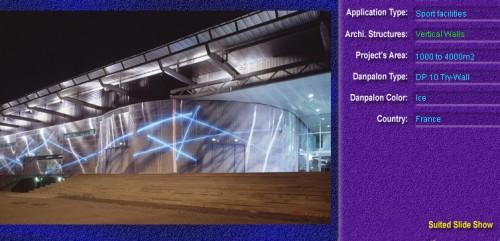 Pereti cortina, din placi de policarbonat TRY WALL DANPALON - Poza 8