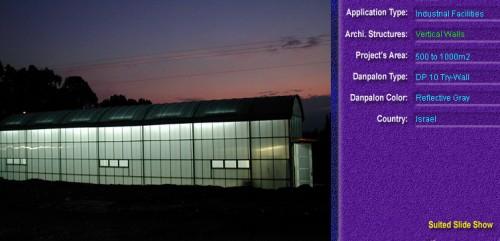Pereti cortina, din placi de policarbonat TRY WALL DANPALON - Poza 12