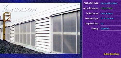 Pereti cortina, din placi de policarbonat TRY WALL DANPALON - Poza 13