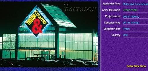 Pereti cortina, din placi de policarbonat TRY WALL DANPALON - Poza 16