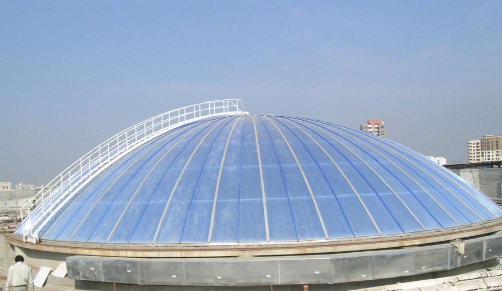 Cupole, domuri din placi de policarbonat DANPALON - Poza 14