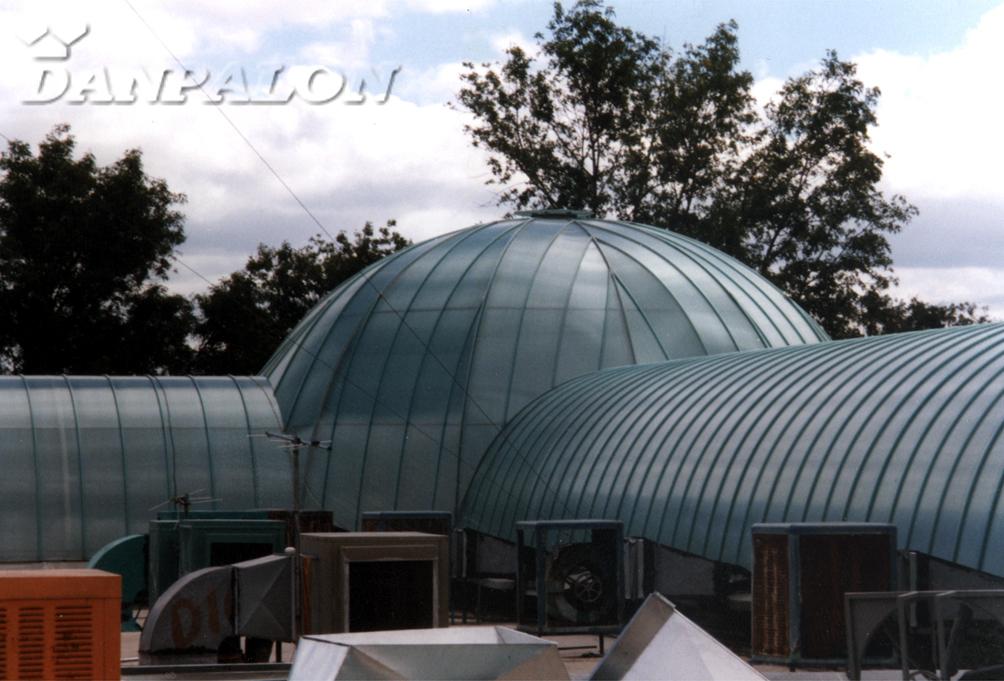 Cupole, domuri din placi de policarbonat DANPALON - Poza 16