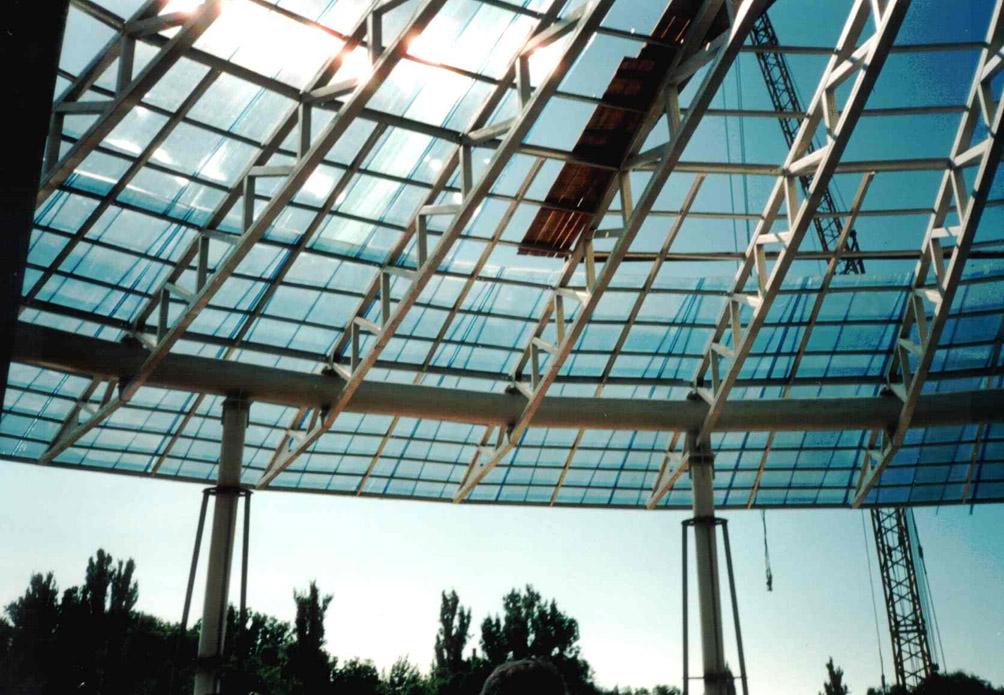 Cupole, domuri din placi de policarbonat DANPALON - Poza 21