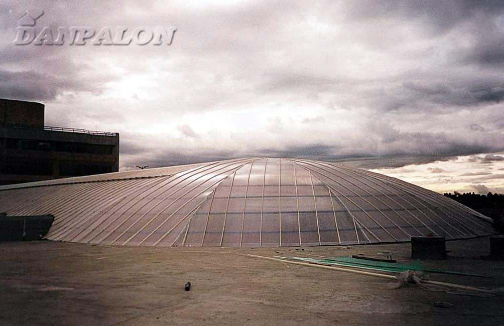 Cupole, domuri din placi de policarbonat DANPALON - Poza 25
