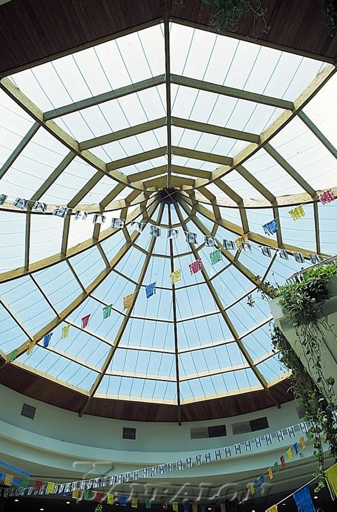 Cupole, domuri din placi de policarbonat DANPALON - Poza 80