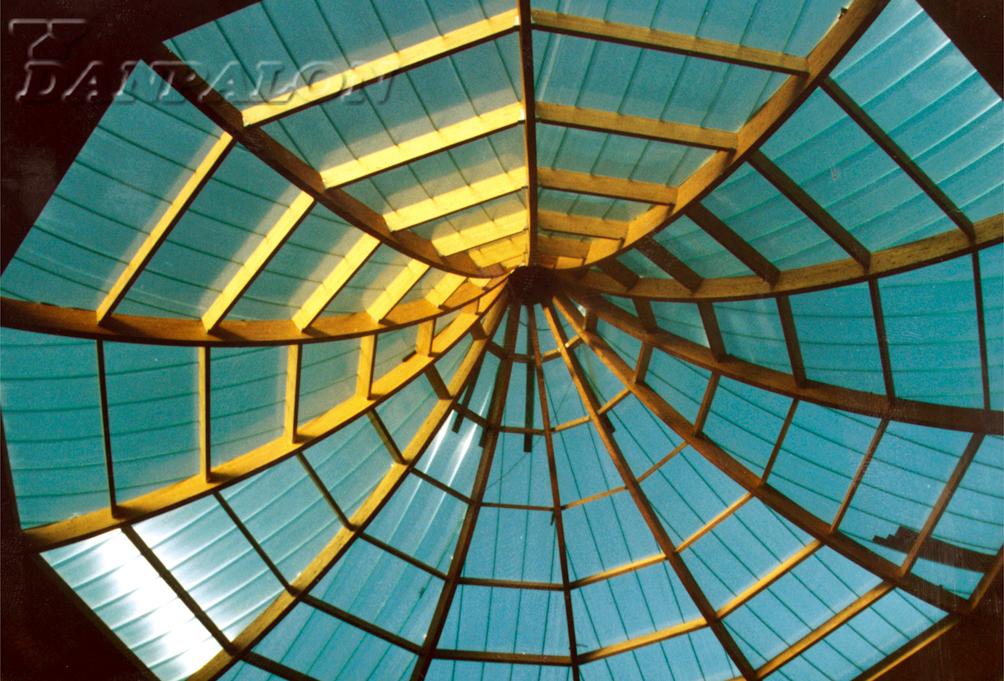 Cupole, domuri din placi de policarbonat DANPALON - Poza 81