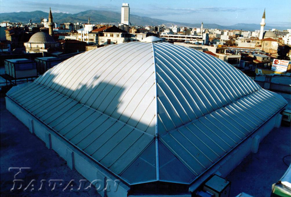 Cupole, domuri din placi de policarbonat DANPALON - Poza 84