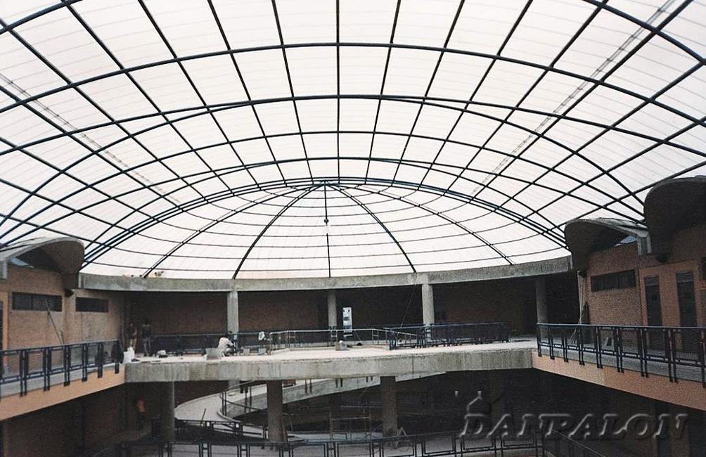 Cupole, domuri din placi de policarbonat DANPALON - Poza 118