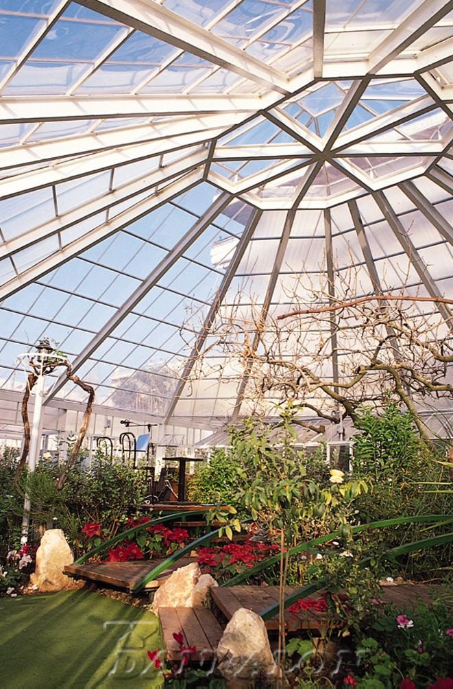 Cupole, domuri din placi de policarbonat DANPALON - Poza 119