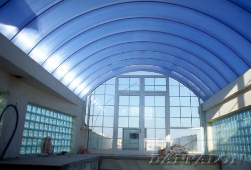 Cupole, domuri din placi de policarbonat DANPALON - Poza 132