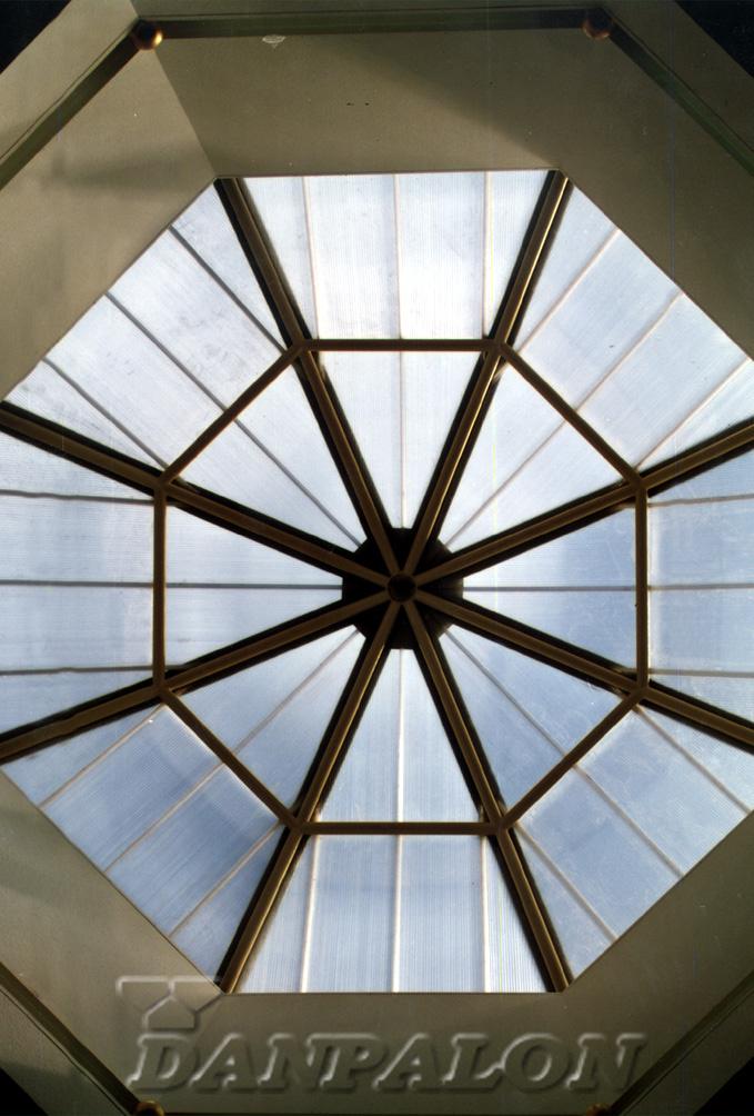 Cupole, domuri din placi de policarbonat DANPALON - Poza 137