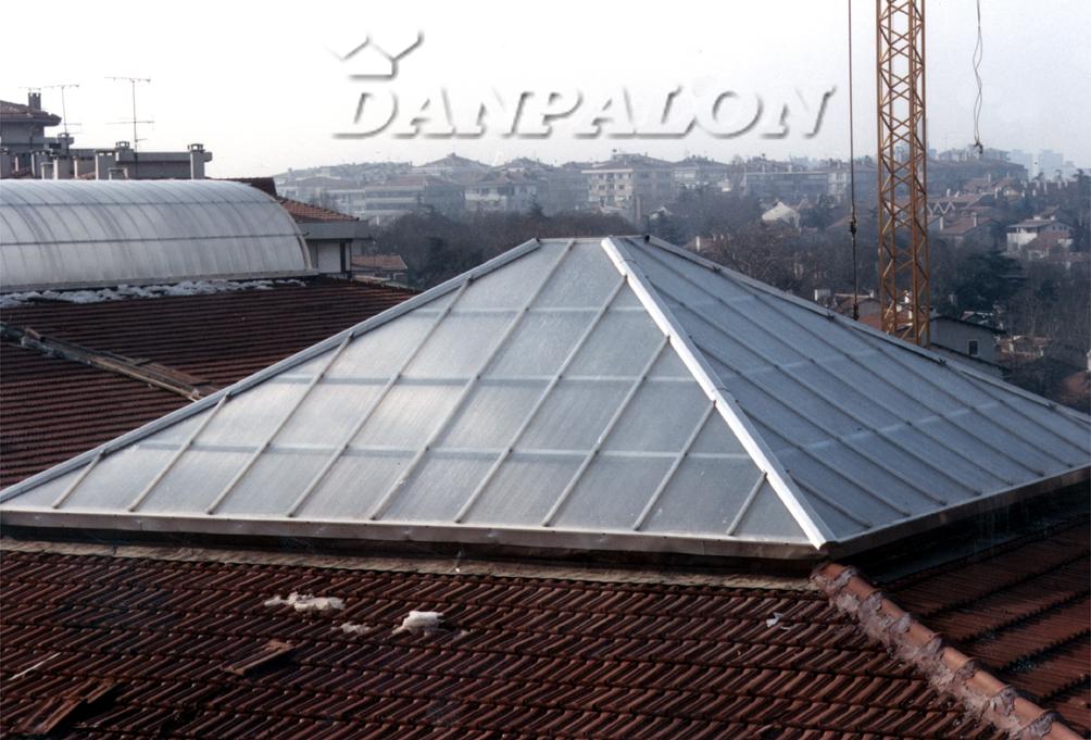 Cupole, domuri din placi de policarbonat DANPALON - Poza 140