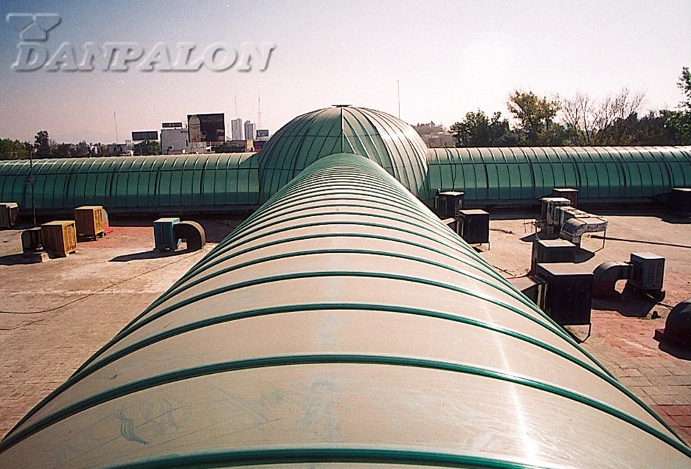 Luminatoare tip banda din placi de policarbonat DANPALON - Poza 15