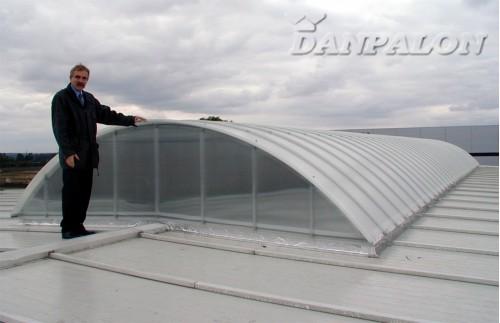 Luminatoare tip banda din placi de policarbonat DANPALON - Poza 46