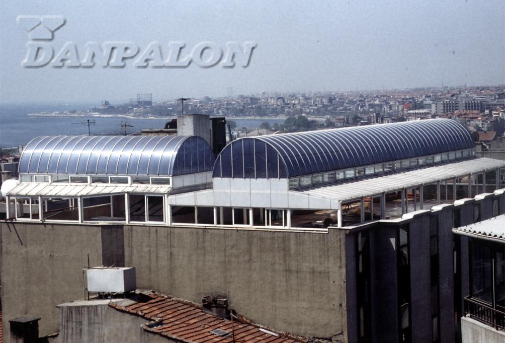 Luminatoare tip banda din placi de policarbonat DANPALON - Poza 48