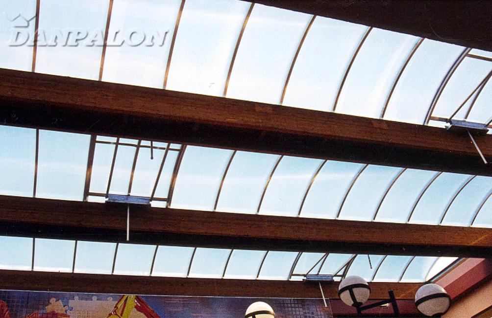 Luminatoare tip banda din placi de policarbonat DANPALON - Poza 62