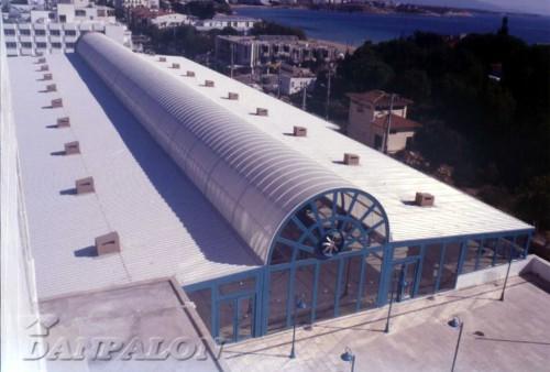 Luminatoare tip banda din placi de policarbonat DANPALON - Poza 96