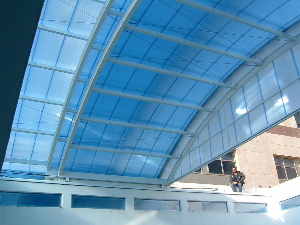Luminatoare tip banda din placi de policarbonat DANPALON - Poza 114