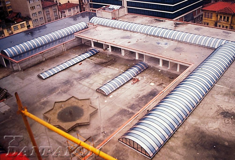 Luminatoare tip banda din placi de policarbonat DANPALON - Poza 130