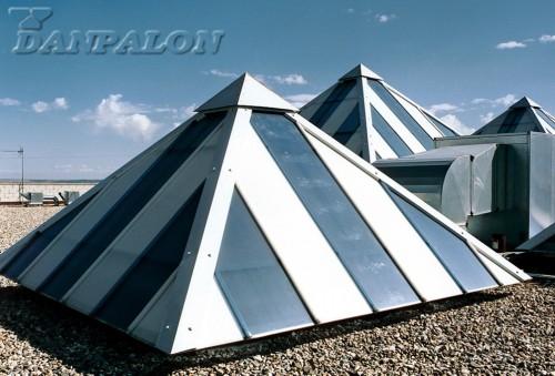 Luminatoare tip banda din placi de policarbonat DANPALON - Poza 159