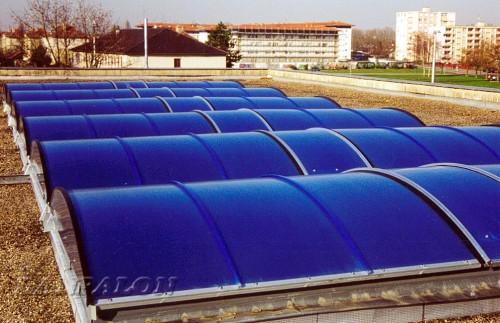 Luminatoare tip banda din placi de policarbonat DANPALON - Poza 164