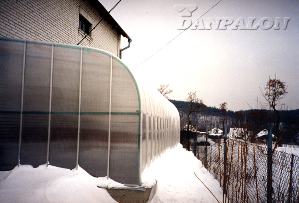Luminatoare tip banda din placi de policarbonat DANPALON - Poza 167