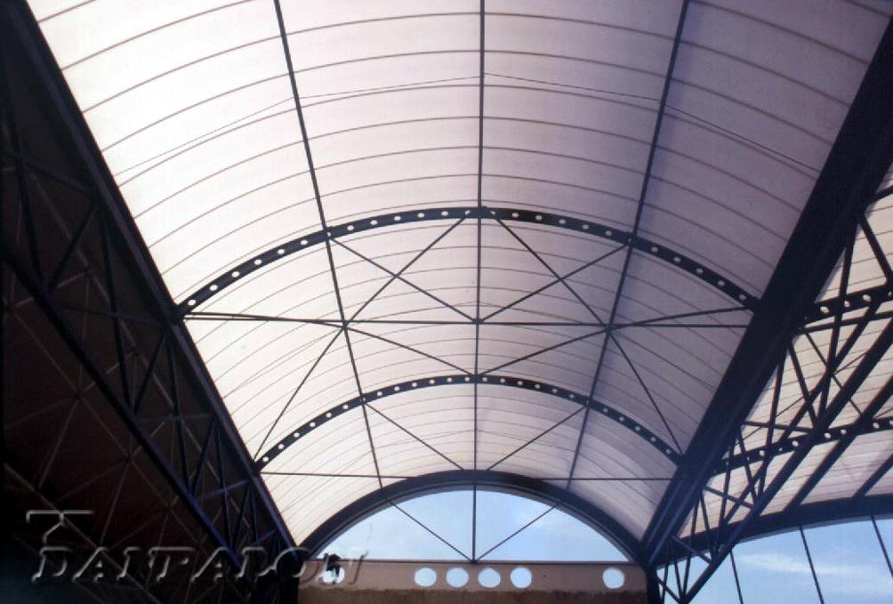 Luminatoare tip banda din placi de policarbonat DANPALON - Poza 185