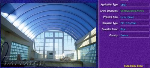 Luminatoare autoportante din placi de policarbonat DANPALON DANPALON - Poza 1