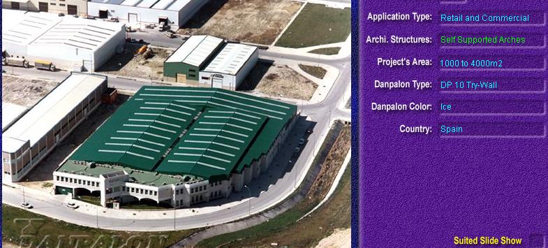 Luminatoare autoportante din placi de policarbonat DANPALON DANPALON - Poza 2
