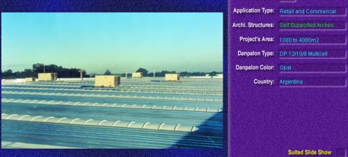 Luminatoare autoportante din placi de policarbonat DANPALON DANPALON - Poza 3