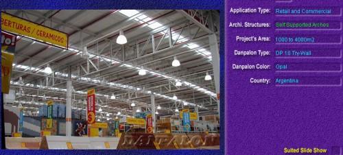 Luminatoare autoportante din placi de policarbonat DANPALON DANPALON - Poza 5