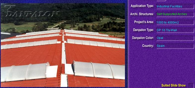 Luminatoare autoportante din placi de policarbonat DANPALON DANPALON - Poza 6