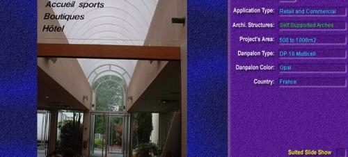 Luminatoare autoportante din placi de policarbonat DANPALON DANPALON - Poza 11